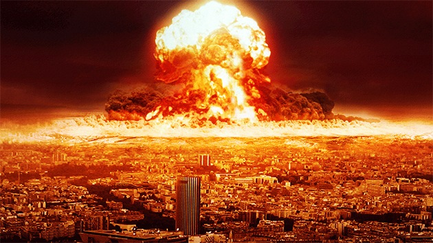 nuclear attack of false flag in US
