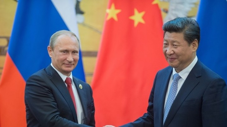 POWERFUL RUSSIA AND CHINA